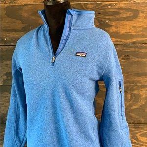 Blue Patagonia jacket